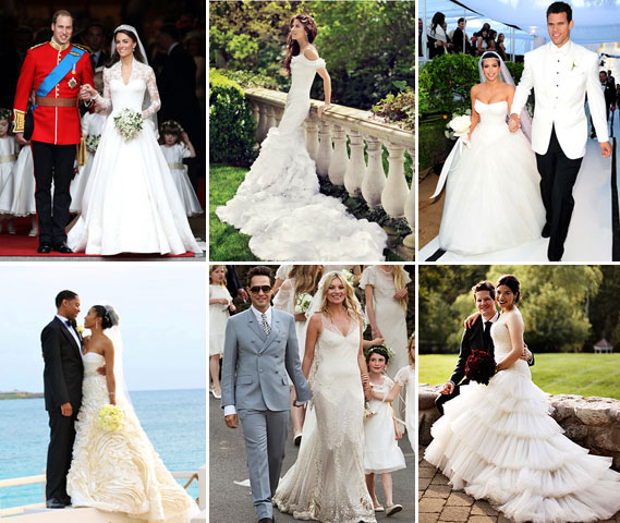 Best Celebrity Wedding Dress 2017
