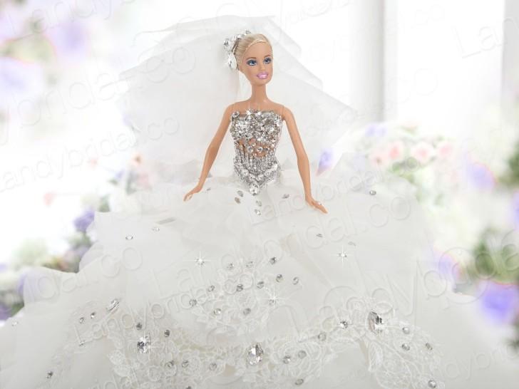 Barbie Wedding Gown Free - ArtCardBook.com - ArtCardBook.com