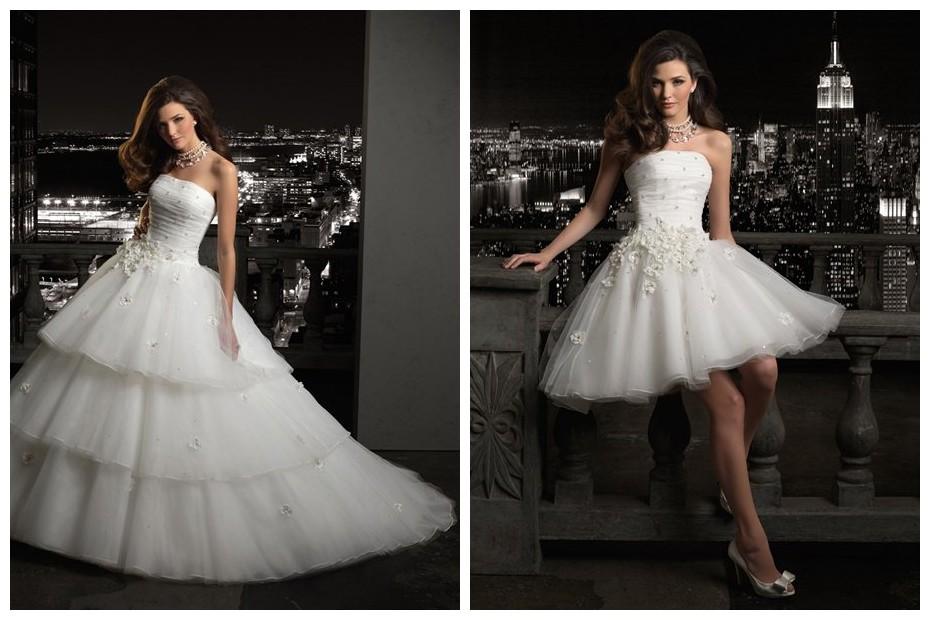 ArtCardBook Wedding Ideas: Convertible Ball Gown Wedding Dress