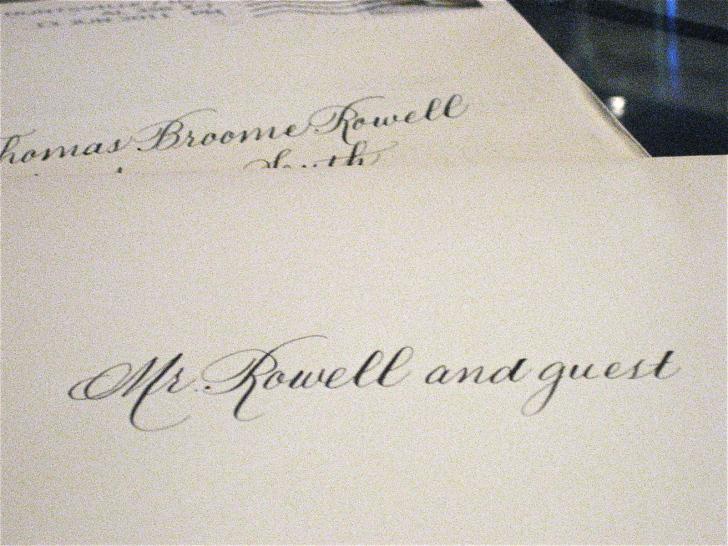Addressing Wedding Invitations Emily Post Wedding Invitation