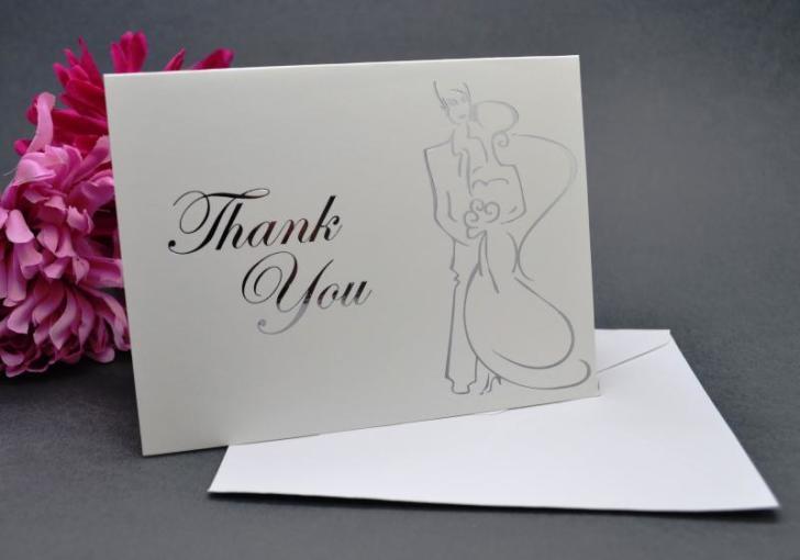 wedding thank you cards envelopes image