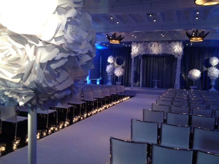 wedding venues sleek modern