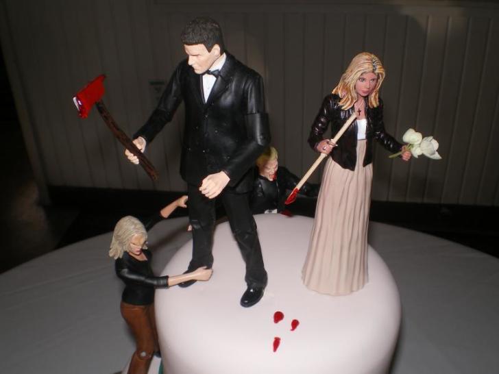 zombie wedding cake std